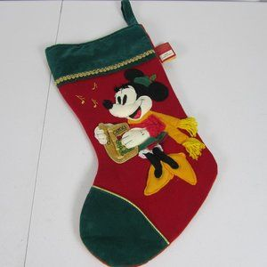 Disney Mickey Mouse Season Of Song Christmas Stock